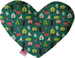 Forest Follies 8 inch Heart Dog Toy